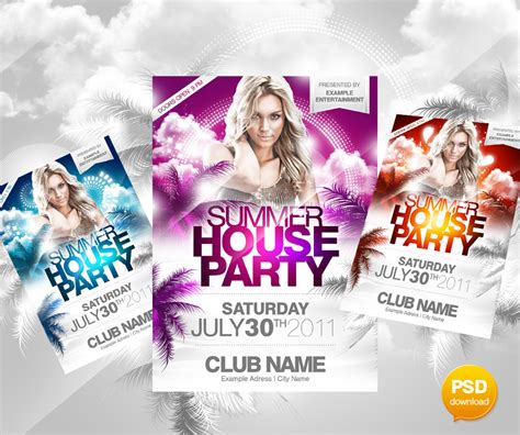 Flyer Design Vorlagen Psd 30 Best Print Ready Psd Flyer Templates Designbump