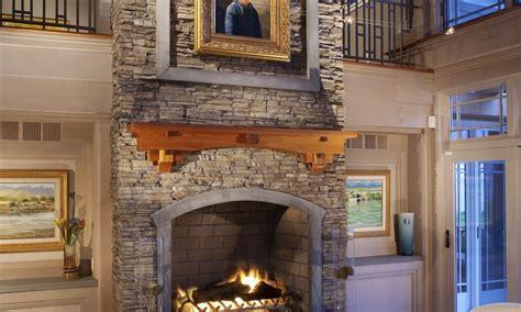 Nantucket Stacked Fireplace by Nautical In New Eldorado