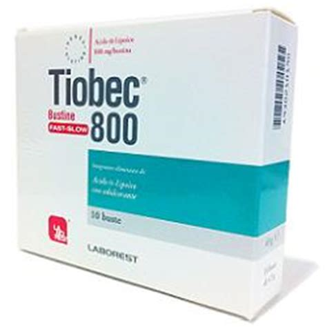 acido alfa lipoico alimenti tiobec 800 bustine con acido alfa lipoico su farmacia venezia