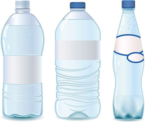 vector water bottle template material 06 vector other