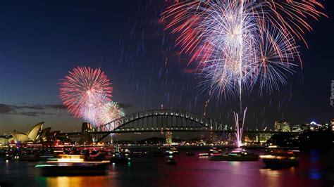 new year los angeles celebration sydney most nowy rok fajerwerki