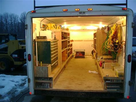 work trailer layout 57 best images about cargo trailer storage on pinterest