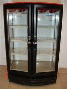 Coke Refrigerator Glass Door Beverage Air 2 Door Coca Cola Glass Display Cooler Ebay