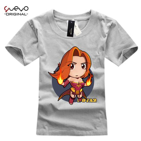 Dota 2 Casual Shirt slayer lina inverse print original design dota2 dota 2