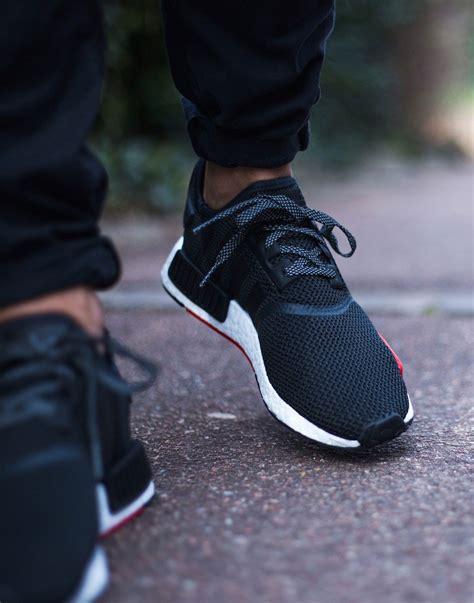 Adidas Nmd R1 Black Gs Original Sneakers footlocker exclusive adidas originals nmd r1 in
