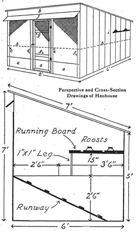 hog house plans hog and chicken house plans small farmer s journal