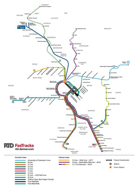 denver rtd light rail denver light rail map roundtripticket me