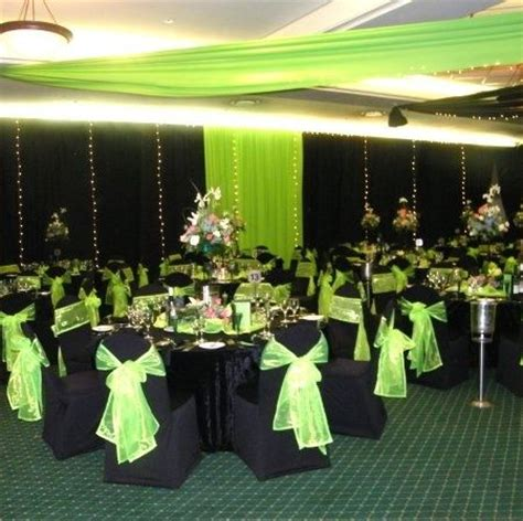 Green Weddings With The Carbonneutral Company by My Wedding Colors Lime Green Black And White