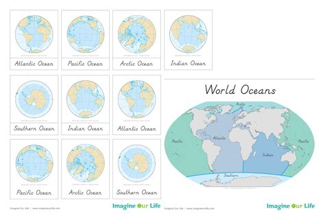 animals of the ocean for the montessori wall map animals of the ocean for the montessori wall map