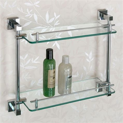 glass bathroom stand bathroom shelf metal glass bathroom decoration plan