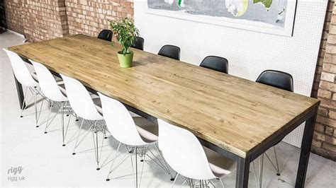 Industrial Boardroom Table Vintage Industrial Boardroom Table