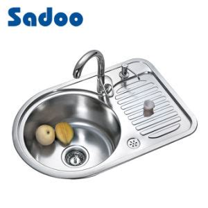 china premium single kitchen sink w small size