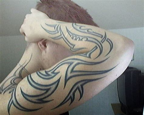 forearm tribal tattoos for guys tribal forearm designs for gallery forearm