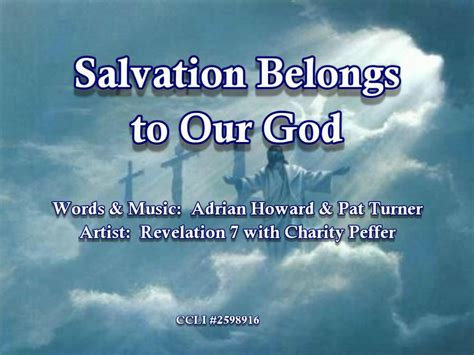 Salvation Belongs To Our God Rev7 Wlyrics Youtube