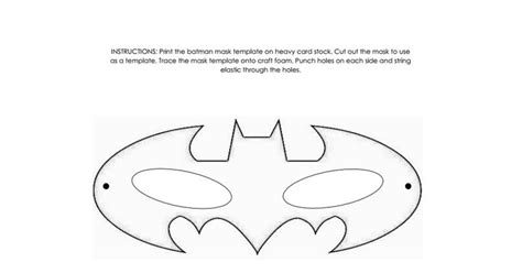 diy batman mask template 25 best ideas about batman mask template on