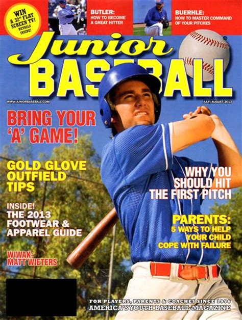 magazine subscription junior baseball magazine subscriptions renewals gifts