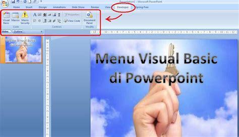 Buku Presentasi Multimedia Lebih Dahsyat Dengan Microsoft Powerpoint mengenal aplikasi visual basic vba untuk powerpoint kamu versi 3