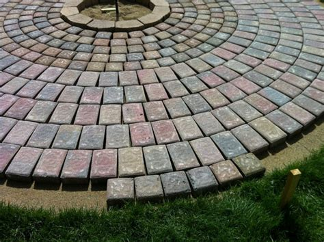 Patio Pavers Moving Diy Home Decor Beautiful Pit And Patio