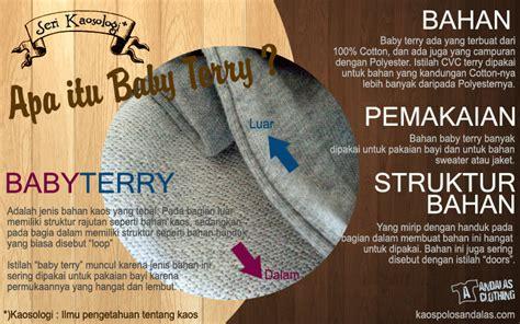 A516 Jaket Sweater Baby Terry bahan kaos polos sweater polos baby terry karakteristik