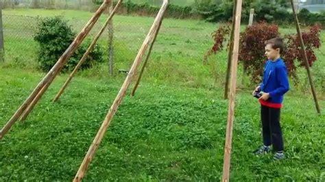 come costruire una tenda indiana loris slalom su tepee indiano con hubsan h107