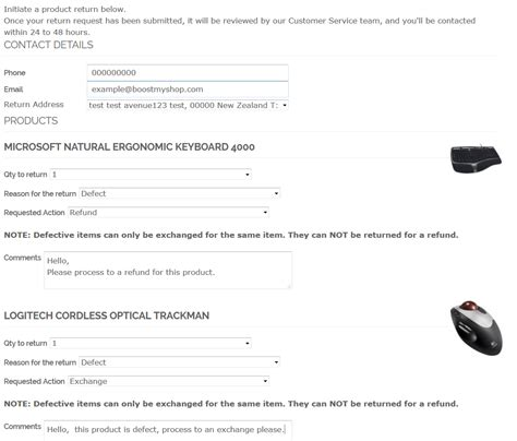 Product Return Rma Magento Connect Product Return Email Template