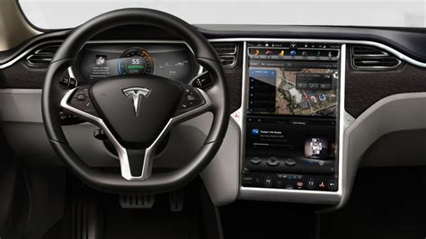 Tesla Touch Screen The New Tesla Could Be Favourite With The In Laws