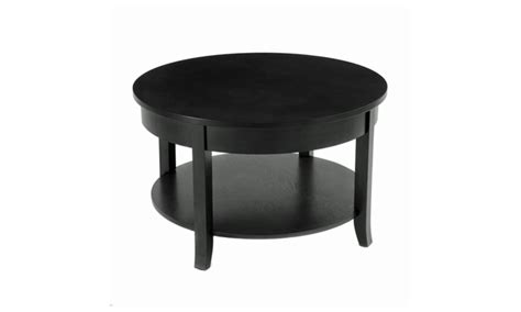 30 round accent table 30 quot round coffee table with round accent and lower shelf