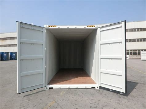container als garage 20 fu 223 high cube container wei 223
