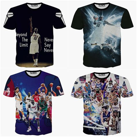 aliexpress buy summer sports basketball tshirt