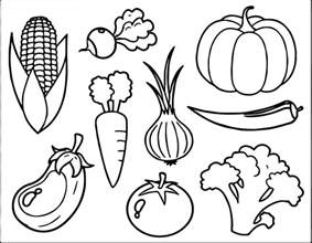 vegetables coloring pages free vegetable coloring page wecoloringpage