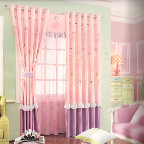 kids drapery dreamy princess patterns blackout kids curtains