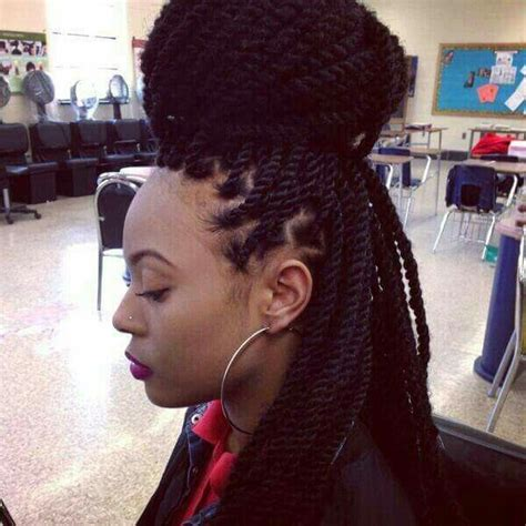 marley twist hair salon chicago marley twists updo protective styles pinterest flat