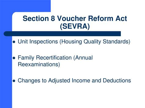 what is section 8 voucher ppt south carolina state housing finance and development