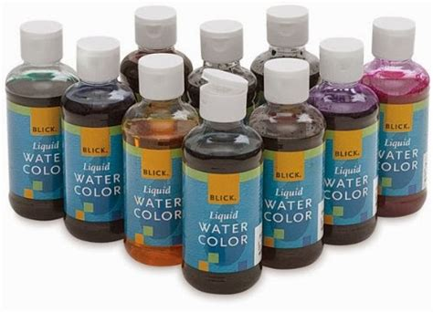 liquid water colors what are liquid watercolors and why would you want them