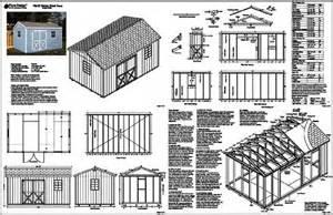 shed plans 8 x 16 shelves offer garage storage