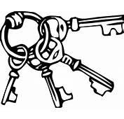 Key Clip Art Black And White  Clipart Panda Free