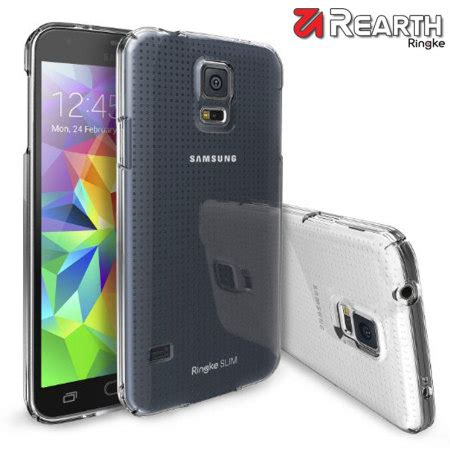 Rearth Ringke Samsung S5 Slim Clear rearth ringke slim samsung galaxy s5