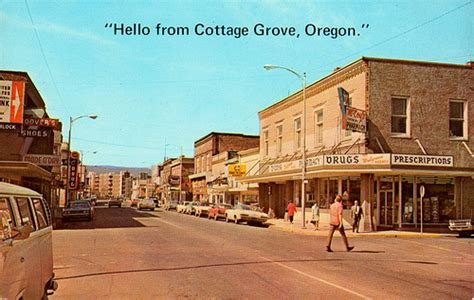 Weather Cottage Grove Or by Cottage Grove Oregon 1960s Flickr Photo