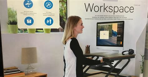 Costco Standing Desk by Ergotronhome Sit Or Stand Height Adjustable Workspace