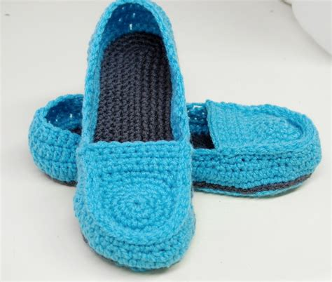 free patterns slippers free crochet pattern s loafer slippers 183 a pair of