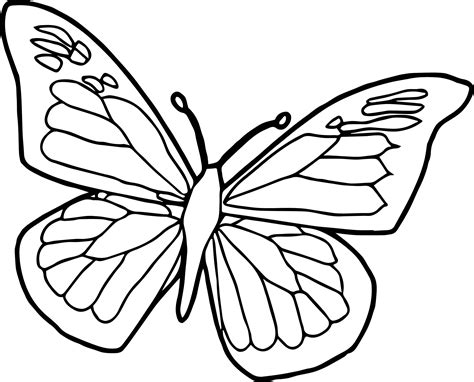 free butterfly coloring pages unique butterfly coloring pages design printable