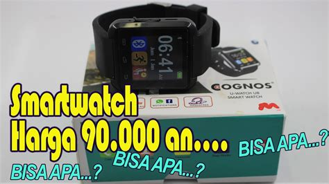 Jam Tangan Cognos Smartwatch unboxing smartwatch jam tangan cognos u8 indonesia