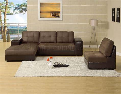 aspen sectional cm6588 aspen sectional sofa in microfiber leatherette
