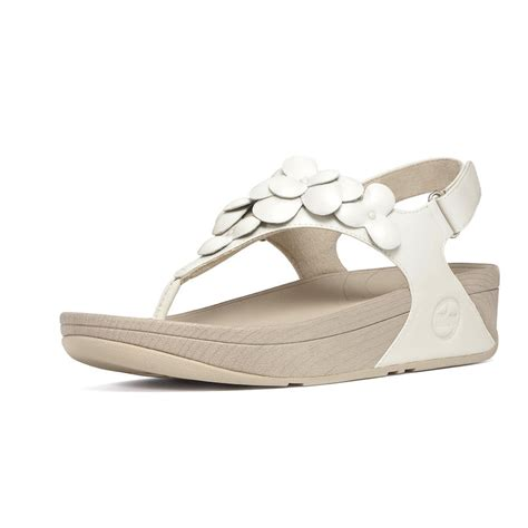 fitflop sandals fitflop fleur sandal white fitflop from nicholas