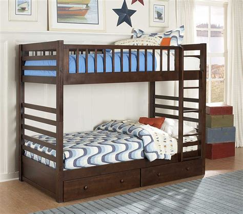Bunk Bed With Drawers by Dreamfurniture Dreamland Bunk Bed With