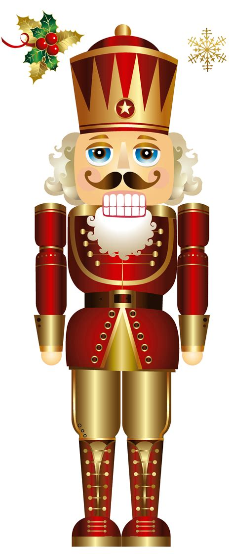 free christmas nutcracker clipart