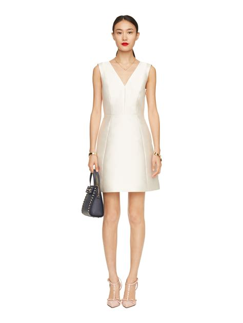 Back Bow Dress kate spade new york open back bow dress in lyst