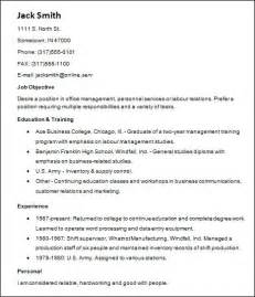 sle basic resume 21 documents in word
