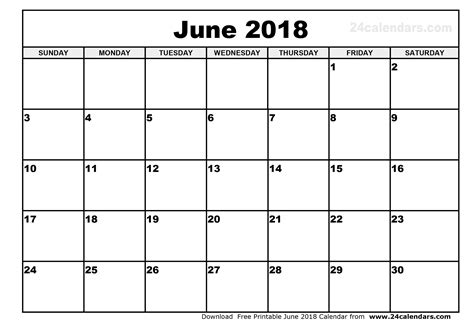 printable calendar diary june 2018 printable calendar visual schedule template