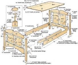 woodwork childrens bed plans pdf plans